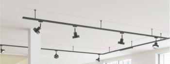 Voorbeeld ophanging railsysteem